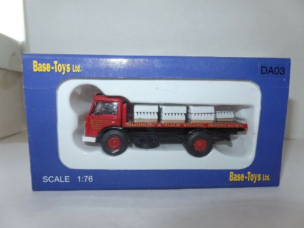 B T Models DA-03  DA03 Ford D Series Flatbed Marshall Kerbstone Load